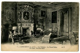 CPA 41 Loir Et Cher Cheverny Le Château Le Grand Salon - Cheverny