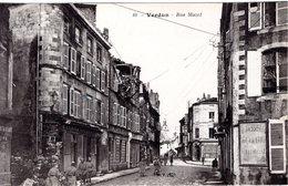 FR-55: VERDUN: Rue Mazel - Guerra 1914-18
