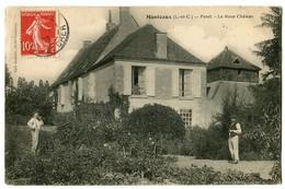 CPA 41 Loir Et Cher Monteaux Panel Le Vieux Château Animé - Autres Communes