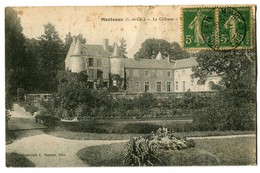 CPA 41 Loir Et Cher Monteaux Le Château - France