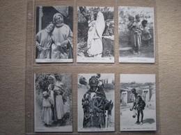 MAROC / SCENES & TYPES + DIVERS - LOT 17 CARTES POSTALES ANCIENNES - Non Classés