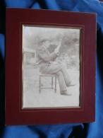 Photo Cabinet Sans Mention - Jeune Homme André Giret En 1901 L389 - Personas Identificadas