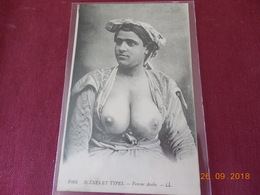 CPA  Femme Arabe - Algeria