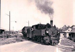 Österreichische Bundesbahnen, Völkermarkt-Kühnsdorf, Train à Vapeur, Photo 1968, BVA ÖBB 514.2 - Eisenbahnen