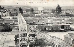 19 Brive - Brives - La Passerelle De La Gare 1907 - Brive La Gaillarde