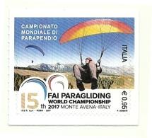 2017 - Italia 3827 Parapendio - Paracadutismo
