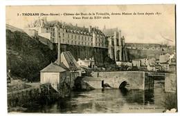 CPA 79 Deux-Sèvres Thouars Château Des Ducs De La Trémoïlle - Thouars