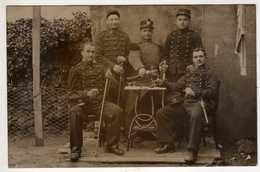 Militaria : Nîmes : 38e Régiment D'Artillerie ( Carte-photo ) - Régiments