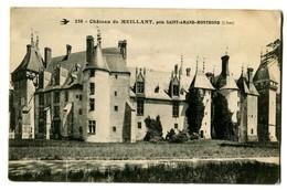 CPA 18 Cher Meillant Le Château Près De St-Amand-Montrond - Meillant