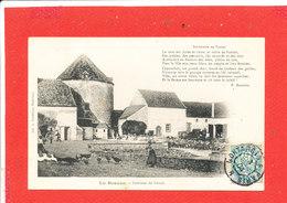 LA BEAUCE Cpa Animée Intérieur De Ferme Avec Citation P Barbier - Centre-Val De Loire