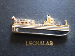 210c Pin's Pins / Beau Et Rare : Thème BATEAUX : BREST 92 LECHALAS Chalalala Lechalala Chalalala - Boats