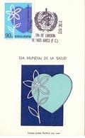 ARGENTINA WORLD HEALTH DAY 1972 RARE   (SET180146) - Salute