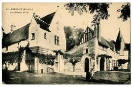 CPA 49 Maine Et Loire Villebernier Le Château - France