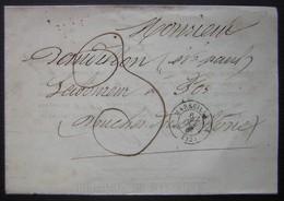 1867 Marseille, Document Des Douanes Nomination D' Etienne Paul Baudillon De Fos, Laboureur, Cachets Bleus Voir Photos - Postmark Collection (Covers)
