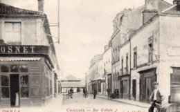 Challans : Rue Gabain - Challans