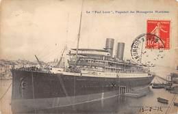 """Le """" Paul Lecat """" , Paquebot Des Messageries Maritimes - Très Bon état - France"""
