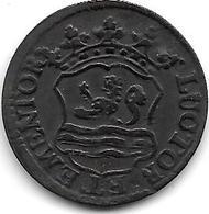 * Zeeland Duit 1754  Vf+ - [ 5] Monnaies Provinciales