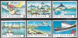 NZ  1989  Sc#964-9  Heritage Set Of 6 MNH  2016 Scott Value $6.20 - New Zealand