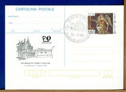 ITALIA - Cartolina Postale - Lire 550  BERNARDINO LUINI  1988 - 6. 1946-.. Repubblica