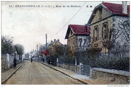 95 - FRANCONVILLE - Rue De La Station - Franconville