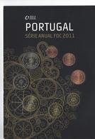 PORTUGAL  EUROMUNTEN FDC-set 2011 -  VOLLEDIGE REEKS - Portugal