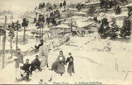 India, DARJEELING, Winter View, Photo Camera (1910s) A. Hafferan Postcard - India