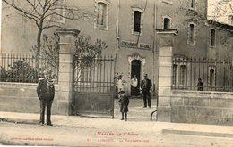 CPA - LIMOUX (11) - Aspect De La Gendarmerie En 1910 - Limoux