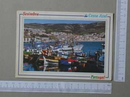 PORTUGAL - PORTO DE PESCA -  SESIMBRA -   2 SCANS  - (Nº25272) - Setúbal