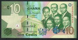 GHANA P39f 10 CEDIS 1.7.2015  #TG     UNC. - Ghana