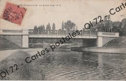 CPA [59] Nord > Canteleu Lez Lille - Le Grand Pont - France