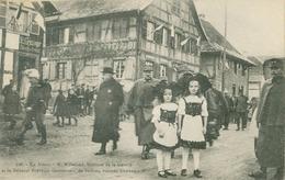 Dannemarie; Millerand, Ministre De La Guerre Et Général Thévenet, Gouverneur De Belfort, Visitant Dannem. - Non Voyagé. - Dannemarie