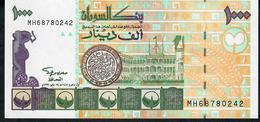 SUDAN SOUDAN P59 1000 DINARS 1996  # MH  UNC. - Sudan