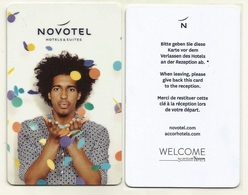 Deutschland / Germany Hotelkarte Keycard Der Novotel Hotelkette - Hotelkarten