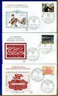 ITALIA - FDC 1975 -  SALVO D'ACQUISTO - FERROVIE - NOTARIATO - 6. 1946-.. Republic