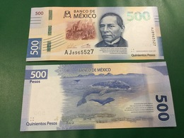 """MEXICO   New  500 Pesos  """"just Issued""""   2018   UNC - Mexico"""
