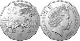 Australia 50 Cents (Year Of The Pig) - 2019 - Australie