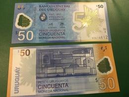 URUGUAY  New  50 Pesos Uruguayos Pnew  2018 POLIMER  UNC - Uruguay