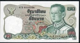 THAILAND P88o 20 BAHT (1981) #6D   Signature 73  UNC. - Thailand