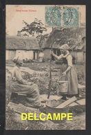 DF / AGRICULTURE / FERMES ET FERMIÈRES / CARTE EXPÉDIÉE DE CÔTE D' OR EN 1904 - Farms