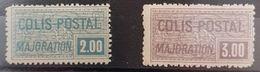 FRANCE  Colis Postaux N° 79 - 80 N** Cote 300€ - Mint/Hinged