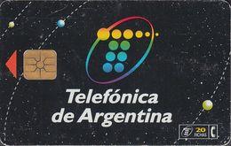 Argentina Chip - AR-TLF-X6 - New Logo, Black Card - Argentina