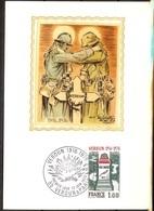 CARTE POSTALE VERDUN Oblitéré 1er JOUR 1976 - 1970-1979