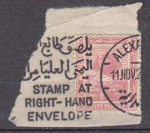A0414 - EGYPTE EGYPT Yv N°61 - 1915-1921 Protectorat Britannique