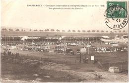 Dépt 08 - CHARLEVILLE-MÉZIÈRES - Concours International De Gymnastique (1912) - Vue Générale Du Terrain Des Exercices - Charleville