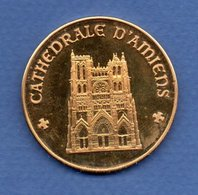 Cathédrale D Amiens  -  Médaille - Touristiques