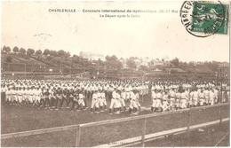 Dépt 08 - CHARLEVILLE-MÉZIÈRES - Concours International De Gymnastique (26-27 Mai 1912) - Le Départ Après Le Défilé - Charleville