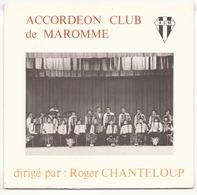 45 TOURS ACCORDEON CLUB DE MAROMME VA 7901 GRANADA / AIMER BOIRE ET CHANTER - Instrumental