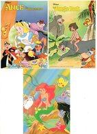 Disney  Lot 3 Stuks/pcs  Alice In Wonderland Jungle Book Ee Zeemeermin - Disney