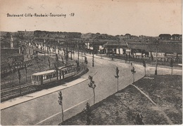 CPA AK Lille Grand Boulevard Croisé Laroche Trois Villes Tram Tramway Straßenbahn Mongy Roubaix Tourcoing 59 Nord - Lille