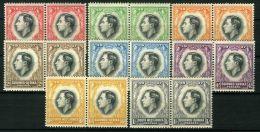 SUD-OUEST AFRICAIN : COURONNEMENT DE GEORGE VI , TIMBRES  NEUFS  SANS  TRACE  DE  CHARNIERE . - Royalties, Royals